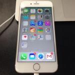 iPhone6、いよいよ息を吹き込みました〜バックアップ復元