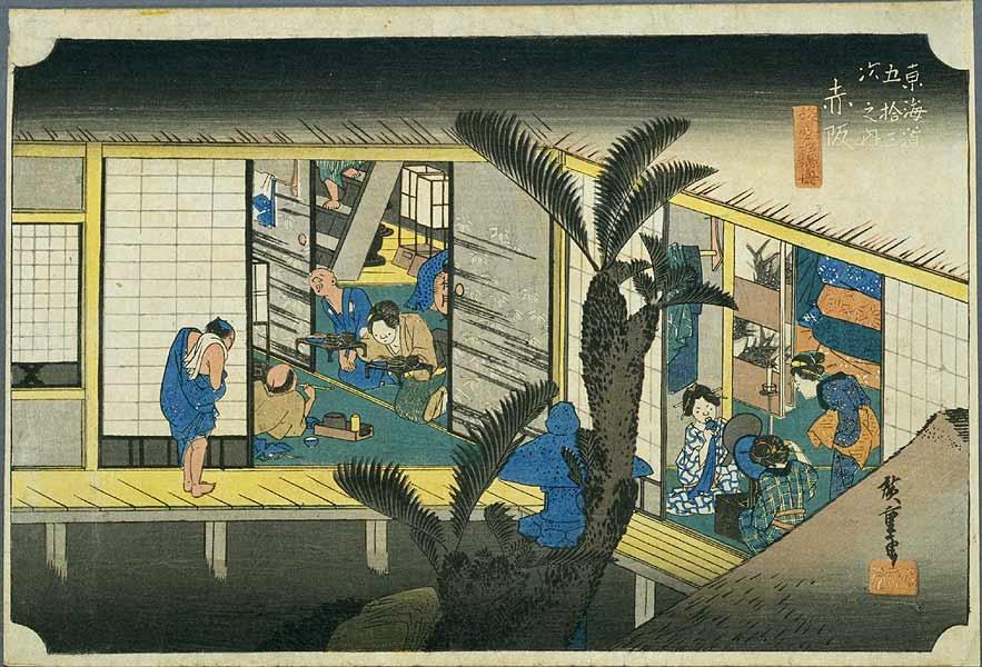 36赤坂宿