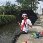 東海道ランの旅 水口宿〜上野公園(25日目2016.08.14)